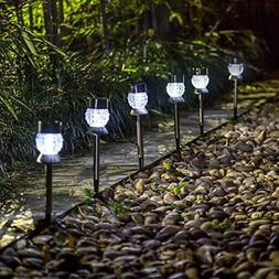6 Pack Low Voltage LED Outdoor Landscape Garden Pathway Ligh