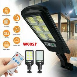Waterproof 100 LED PIR Motion Sensor Solar Power Outdoor Gar