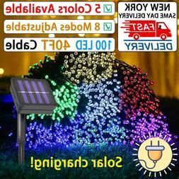 Waterproof 12M 100LED String Lights Indoor/Outdoor Lighting