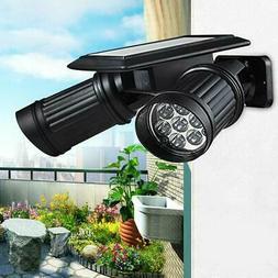 Waterproof 42LED Solar Powered Yard Lights Motion Sensor Lig