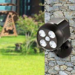 Waterproof IP65 Lights Outdoor with Sensor Battery Operated