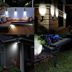 2 in1 Waterproof Outdoor Landscape Solar Light Yard Garden D