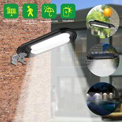 Waterproof Solar Powered Light 18LED Dusk To Dawn Wall Light