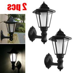 Waterproof Wall Mount Solar Lights Outdoor Pathway Gate Brig
