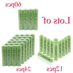 Wholesale Triple A 1.2v NICD 600mAh AAA Rechargeable Batteri
