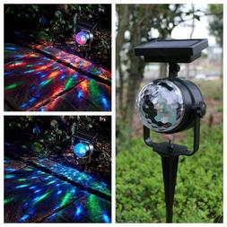 Yard Rotating Christmas Decor LED Laser Projector Outdoor La