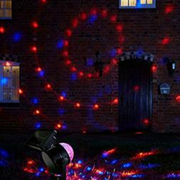 Yard Rotating Christmas Decor Outdoor Lamp LED Laser Project